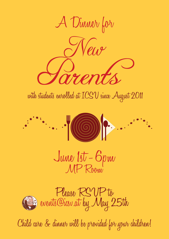 Dinner Invitation | Poster | Flyer – Draft – Dax Graphics☧