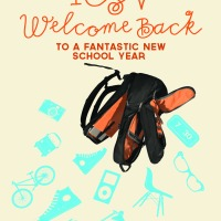 New! Welcome Back to School Poster | ICSV 2012