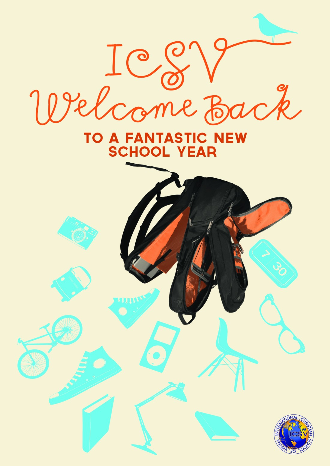 And another new poster ... Welcome Back to School