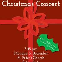 ICSV High School Christmas Concert Poster - 3 Christmas Concert Posters 1 Graphic!