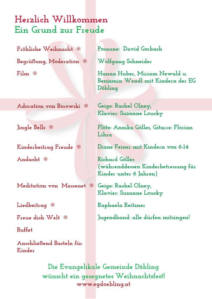 Back of A5 EGD Advent Program