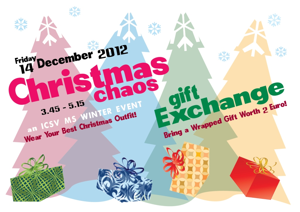 Christmas Chaos Poster without logo 1