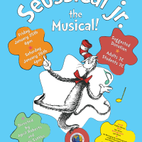 Poster Idea for the ICSV Middle School Musical Seussical Jr. 2013