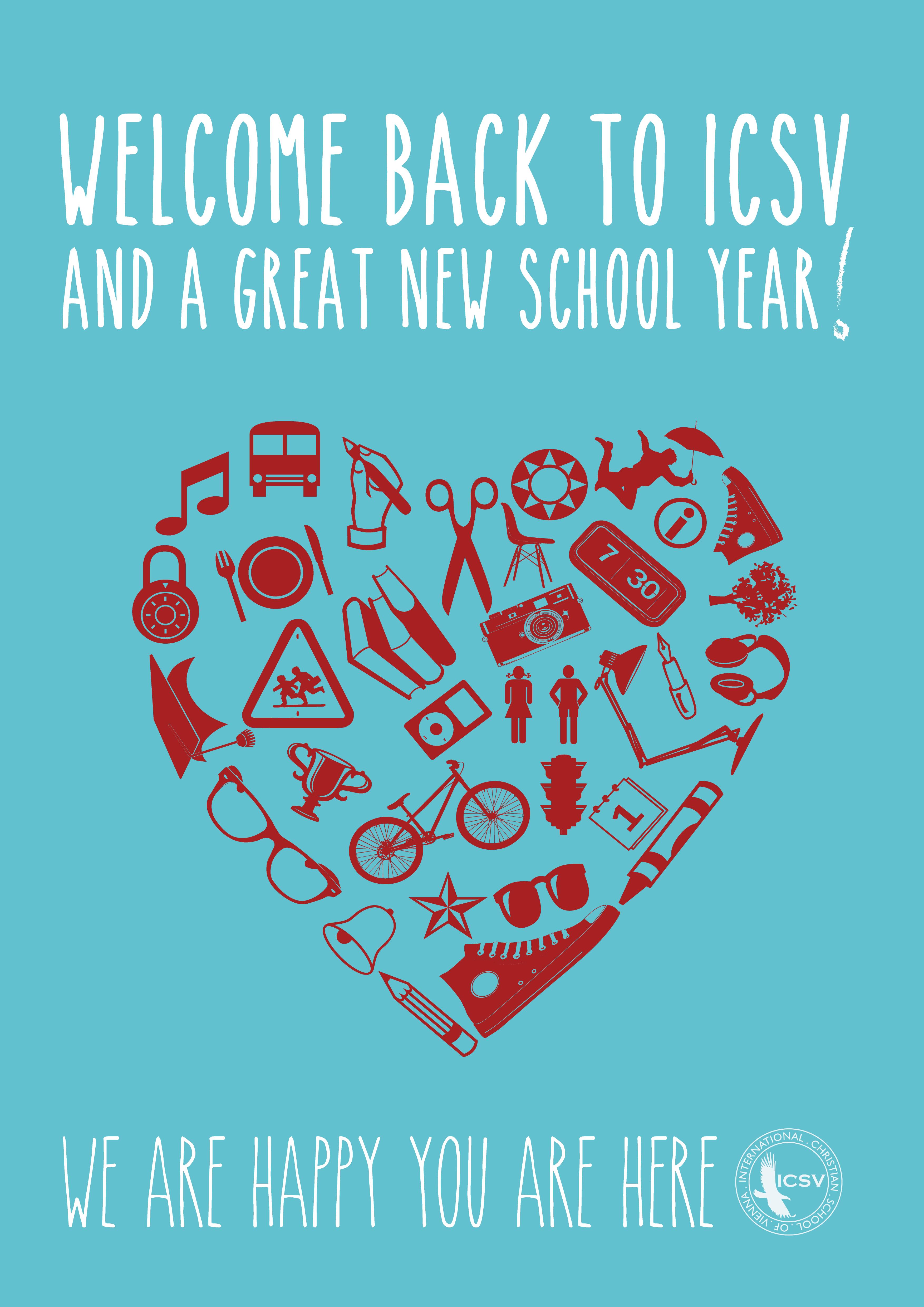 welcome back to school icsv 2013 poster  u2013 dax graphics u2627