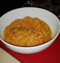red lentil soup with pumpkin