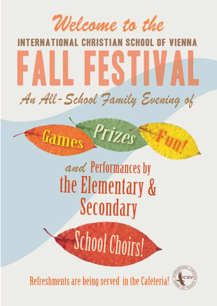 ICSV Fall Festival 2013 Program-01