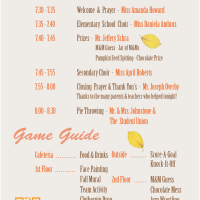 2013 Fall Festival Program for ICSV | A5 front & back