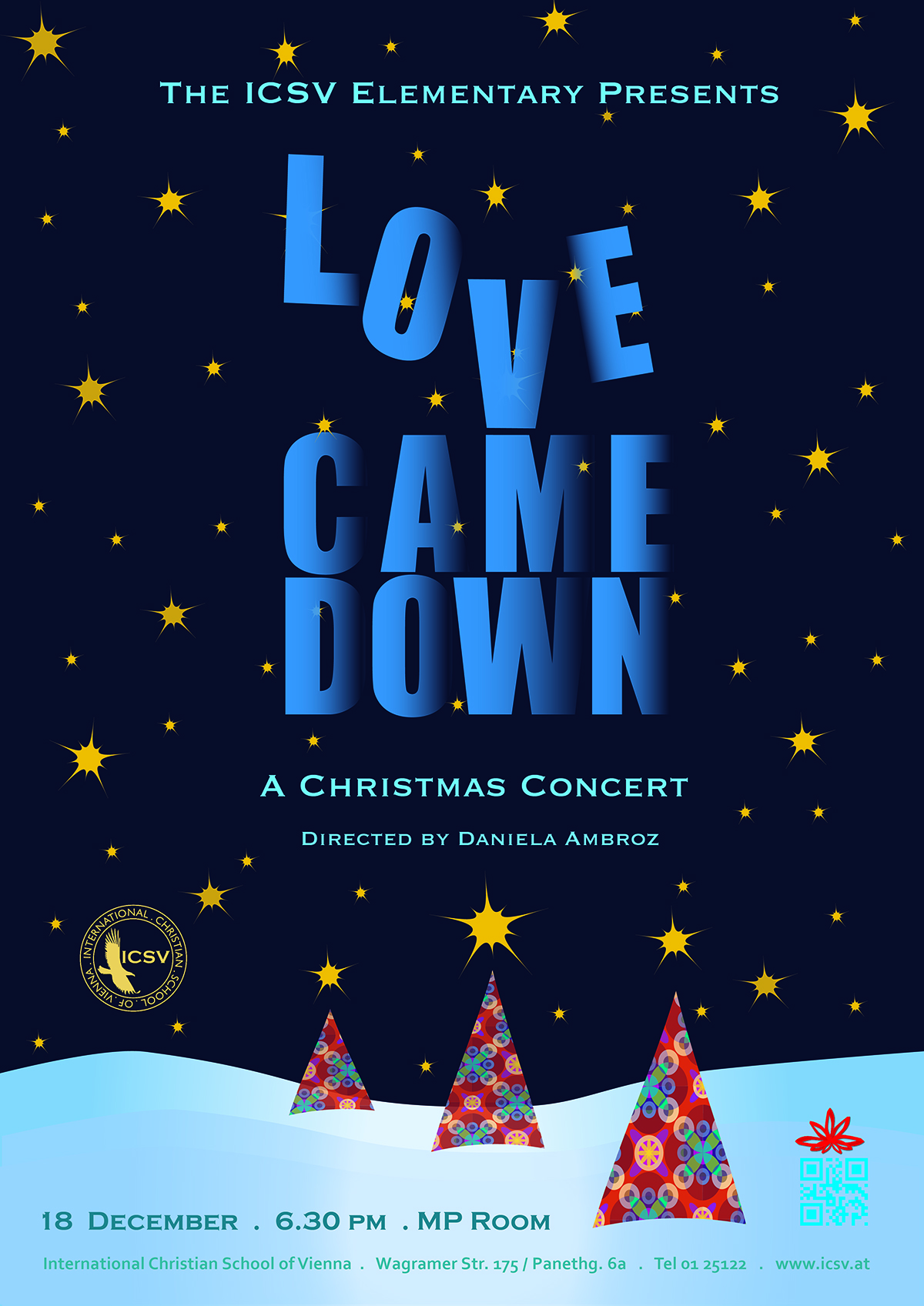 Christmas Poster.Icsv Elementary S 2013 Christmas Concert Poster Final