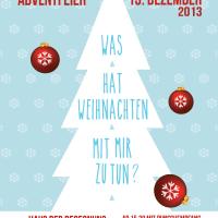 Adventfeier Einladung fuer Freikirche Doebling - A6 | 2013