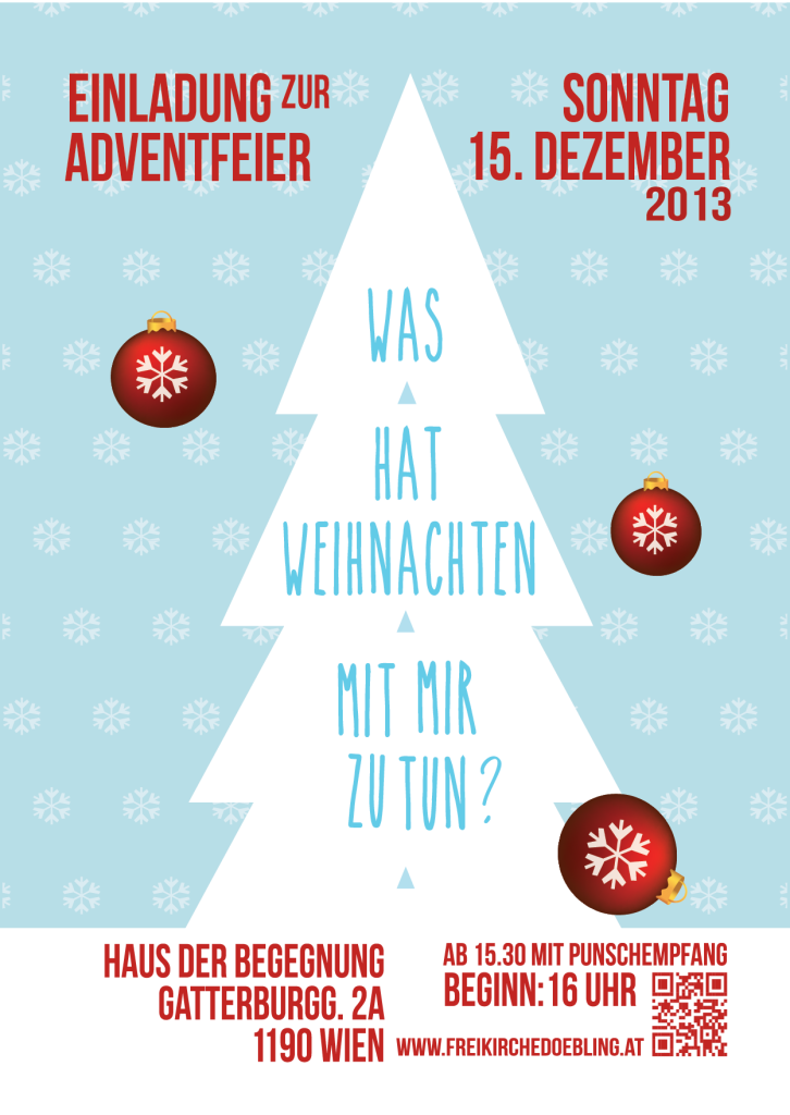 FD Adventfeier Einladung 2012