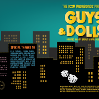 Program Design for Guys & Dolls Jr.   |  ICSV Vagabonds production 2013