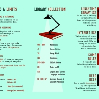 New 2014 - 2015 ICSV Middle & High School Library Tri-Fold Brochure (Inside)