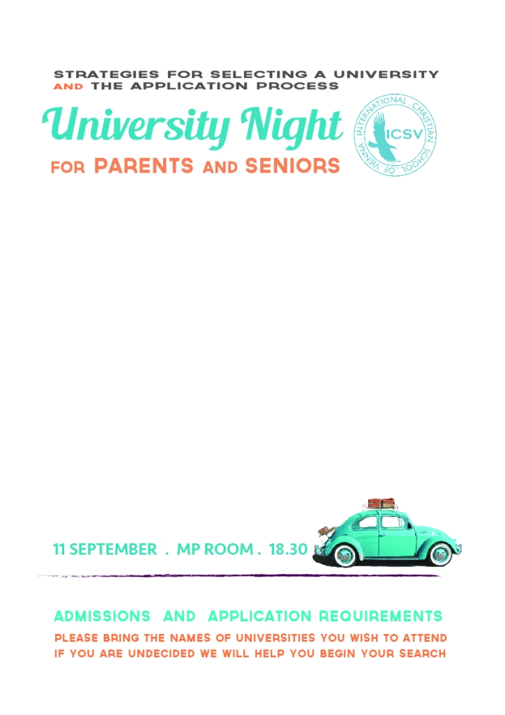 University Night 12th grade 2014-01