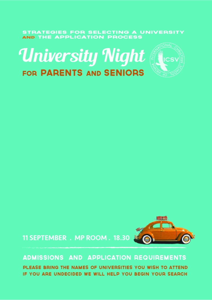 University Night 12th grade 2014-03
