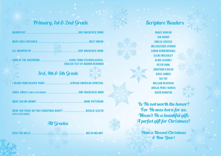 EL Christmas Concert Flyer 2014 LR