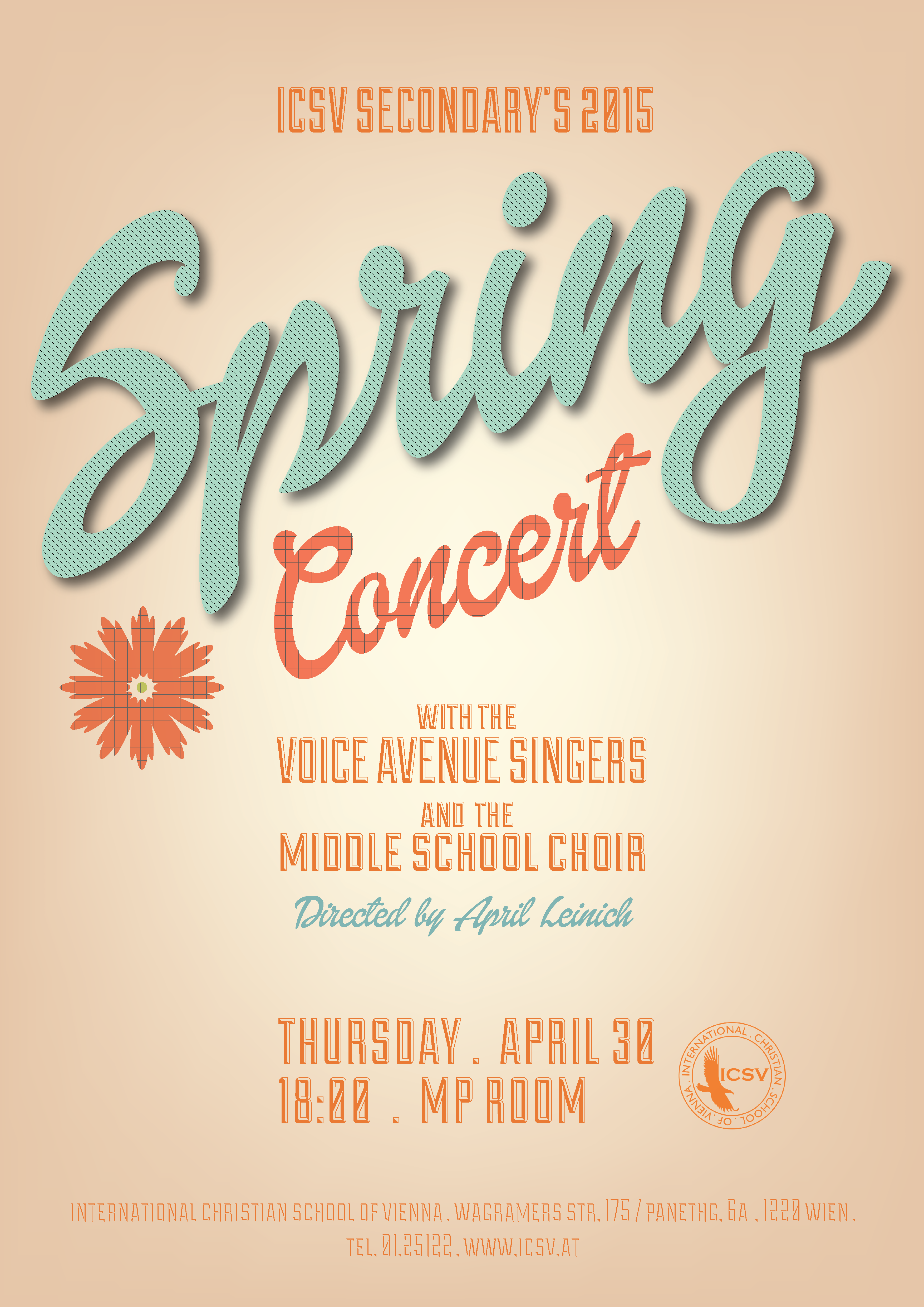 Secondary Spring Concert Poster 01