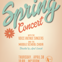 Newest Poster for the Secondary Music Teacher - ICSV Secondary Spring Concert 2015