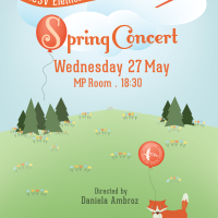 Introducing the nearly finished 2015 ICSV Elementary Spring Concert Poster . . .