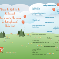The 2015 ICSV Elementary Spring Concert Program [front & inside]
