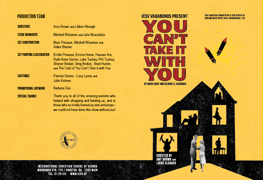 You can't take it with You Program-01